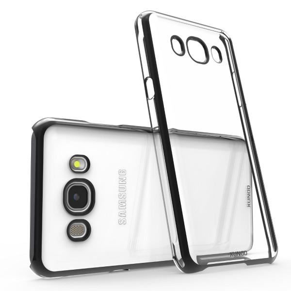 Urcover® Samsung Galaxy J5 (2016) Kunststoff Soft Back Case Cover Klar Bumper