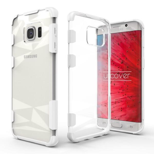 Urcover® Samsung Galaxy S6 Edge Schutz Hülle Slim Kameraschutz Hard Case Cover