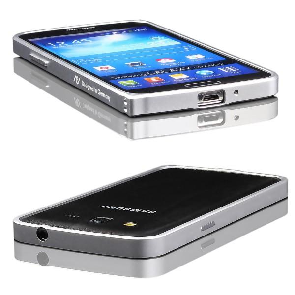 Urcover® Samsung Galaxy Grand Duos 2 Schutzhülle Kantenschutz Randschutz Bumper