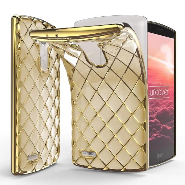Urcover® LG G4 Schutz Hülle Quilted Diamond Design Case Cover Tasche Schale Etui