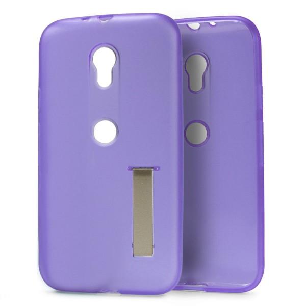 Urcover® Motorola Moto G3 Schutz Hülle mit Standfunktion Soft Case Cover Tasche
