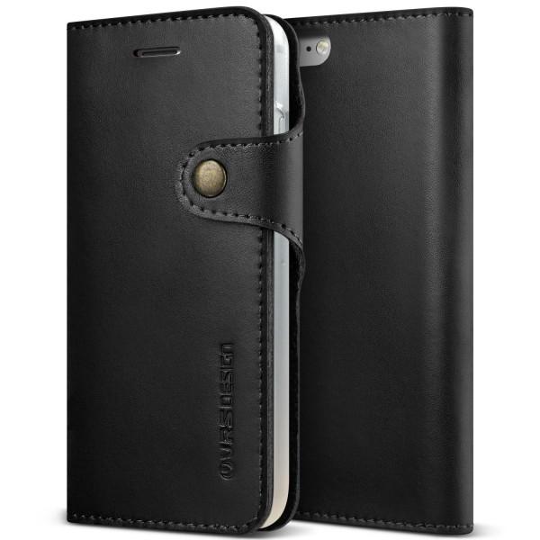 VRS Design® Apple iPhone 7 Kunstleder Wallet Cover Case Schutzhülle Etui Wallet