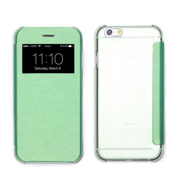 Apple iPhone 6 / 6s View Case klar Schutz Hülle Cover Case Etui Handytasche