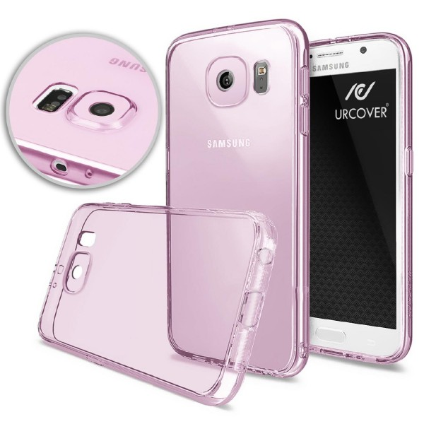 Samsung Galaxy S6 Ultra Slim Soft Backcase Kameraschutz Hülle Silikon Cover Case