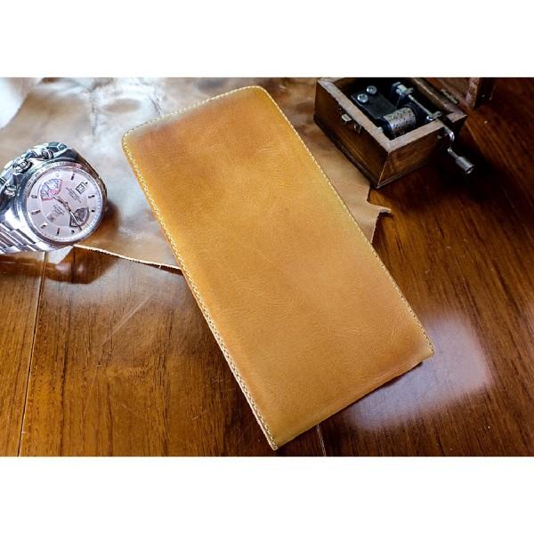 Akira Sony Xperia M4 Aqua Handgemachte Echt Leder Klapp Schutz Hülle Case Cover
