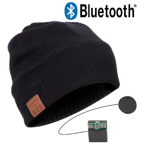 Urcover Musik Mütze Beanie Bluetooth Kopfhörer Headsetheit ! Strick Mützen