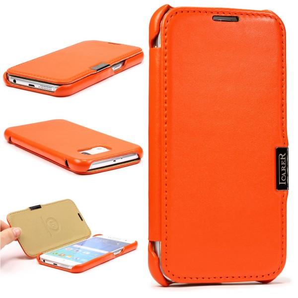 Urcover® Samsung Galaxy S6 Schutz Hülle Wallet Kartenfach Case Cover Etui