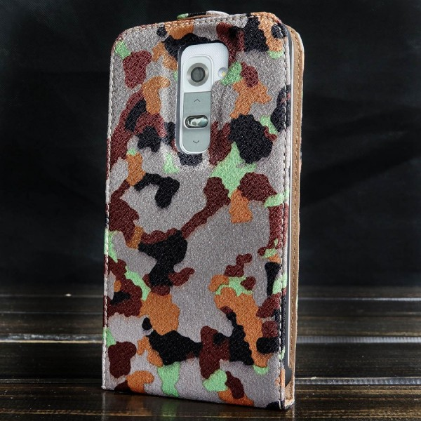 Urcover® LG G2 Tarn Optik Schutz Hülle Case Cover Etui Flip Wallet
