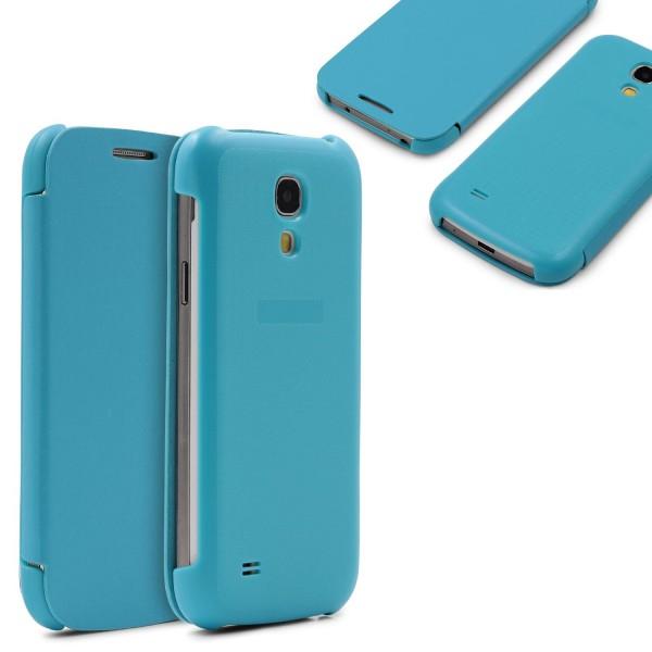 Urcover® Flip Case für Samsung Galaxy S4 Mini Hülle Cover Schutzhülle Tasche