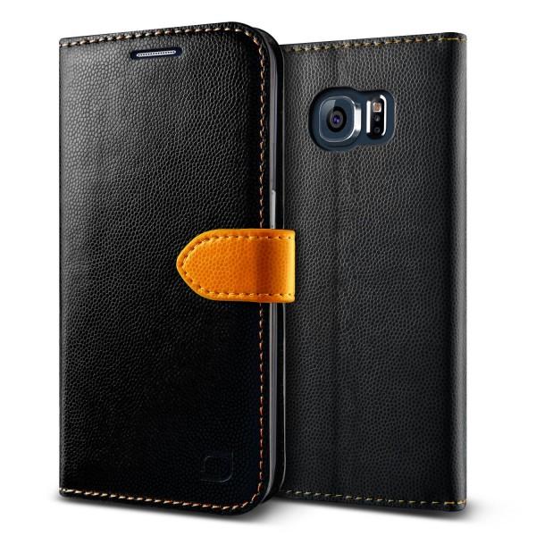 Urcover® Samsung Galaxy S6 Extra Slim Klapp Schutz Hülle Case Cover Etui Schale