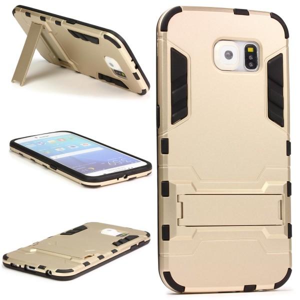 Urcover® Samsung Galaxy S6 Schutz Hülle Case Cover Tasche Steel Series Etui