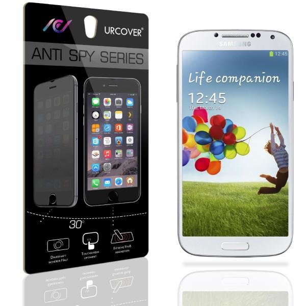Urcover® Samsung Galaxy S4 Anti Spy Bildschirm Blickschutz Folie Displayfolie