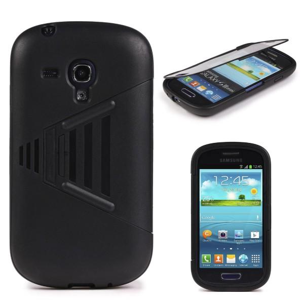 Samsung Galaxy S3 Mini TOUCH CASE Display Schutzhülle Schale Rundum Cover Tasche