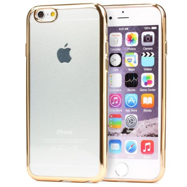 Apple iPhone 6 / 6s Urcover® TPU Silikon Handy Schutzhülle Spiegel Back Case