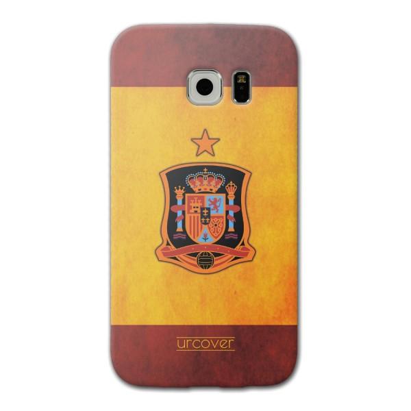Urcover® Samsung Galaxy S6 Edge Fanartikel Schutz Hülle Fußball Case Land Flagge