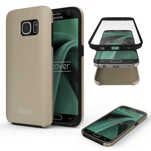Samsung Galaxy S7 Touch Case 2018 Handy Schutz Hülle 360° Rundumschutz Etui