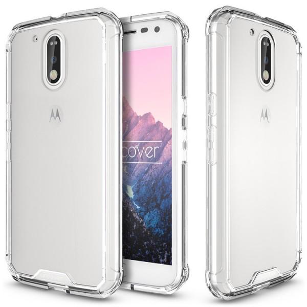 Motorola Moto G4 Schutz Hülle ULTRA SLIM Case Cover klar transparent Schale TPU
