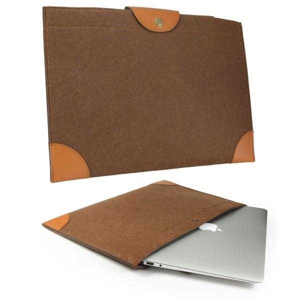 Urcover® 15,4 Zoll Tablet Schutzhülle Kunstleder Wallet Tasche Cover Case Etui