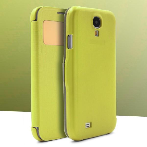 Urcover® Samsung Galaxy S4 Kunststoff Wallet Schutzhülle Cover Case Flip Etui
