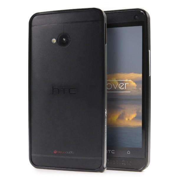 Urcover® HTC One M7 Alu Bumper Schutz Hülle Case Cover Tasche Etui Schale