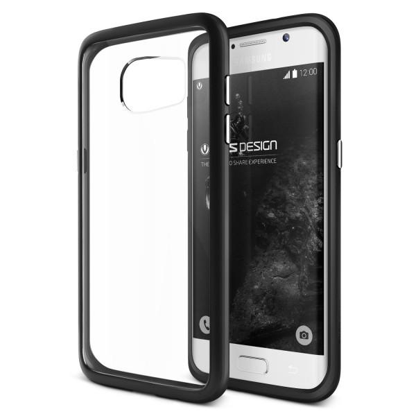 VRS Design® Samsung Galaxy S7 Edge PC TPU Cover Case Hülle Transparent Bumper