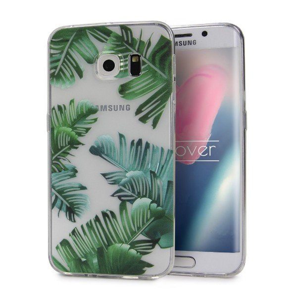 Urcover® Samsung Galaxy S6 Edge Design Back Case Kameraschutz Schutzhülle Cover