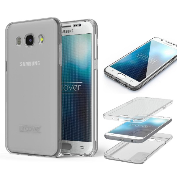 Samsung Galaxy J5 (2016) TPU Case 360 Grad Schutz Hülle Etui Cover Touch Case