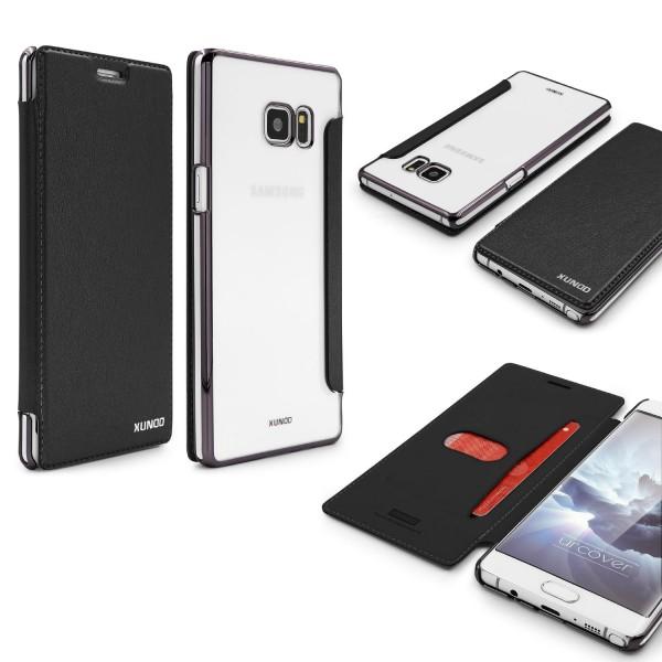 Samsung Galaxy Note 7 Schutzhülle Wallet Klapp Cover Flip Case Tasche Etui