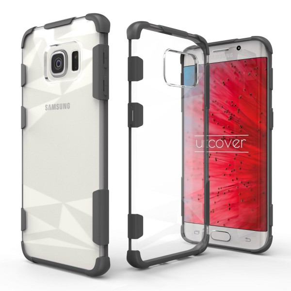 Urcover® Samsung Galaxy S6 Edge Plus Hülle Slim Kameraschutz Hard Case Cover