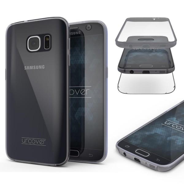 Samsung Galaxy S7 Touch Case 2018 Handy Schutz Hülle 360° Rundumschutz Bumper