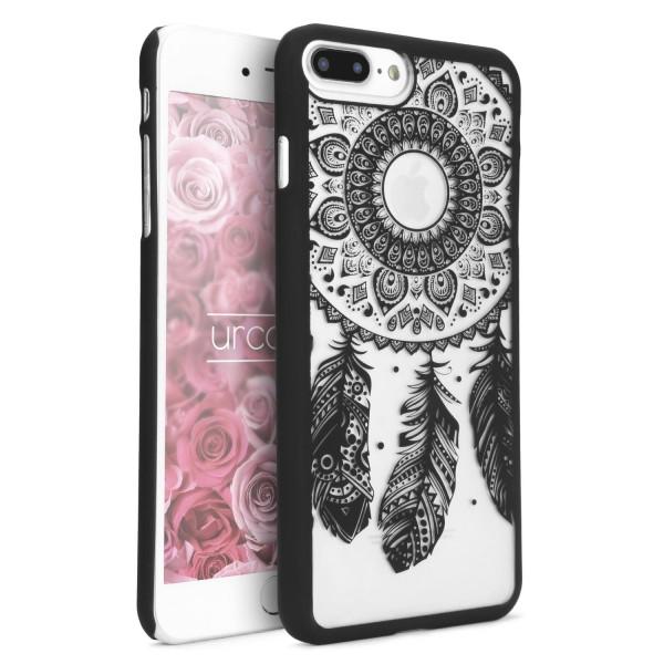 Urcover® Apple iPhone 7 Plus Feder Back Case Schutz Hülle Design Cover Schale