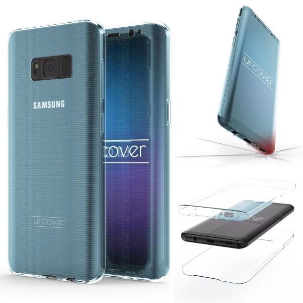 Samsung Galaxy S8 Plus 360 Grad Rundum Schutz Hülle Case TPU Etui Cover Tasche