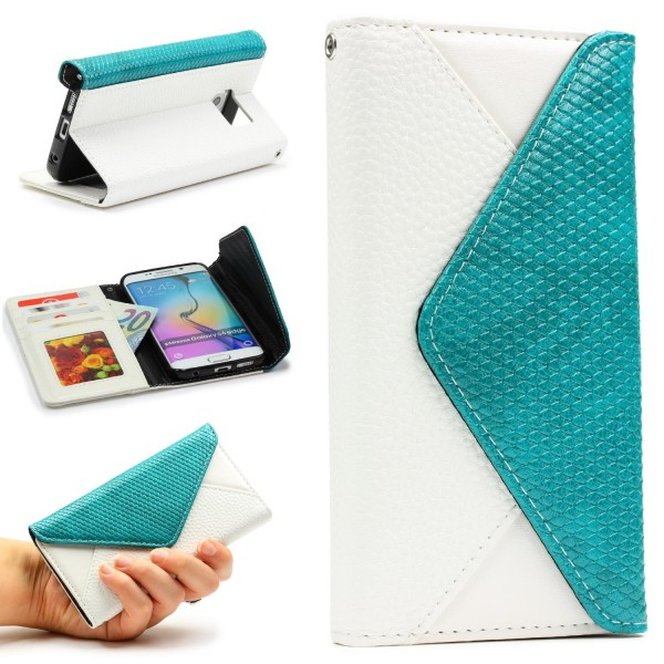 Urcover® Samsung Galaxy S6 Edge Plus Schutz Hülle Karten & Geld Fach Case Cover