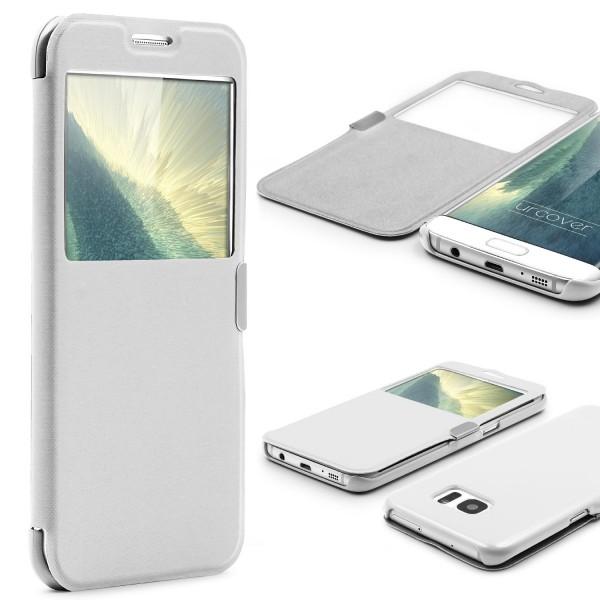 Samsung Galaxy S7 Edge View Case Schutz Hülle Sicht-Fenster Cover