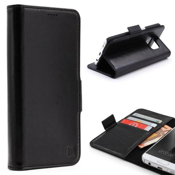 Urcover® Samsung Galaxy S7 Kunstleder Stand Wallet Schutzhülle Case Cover Etui