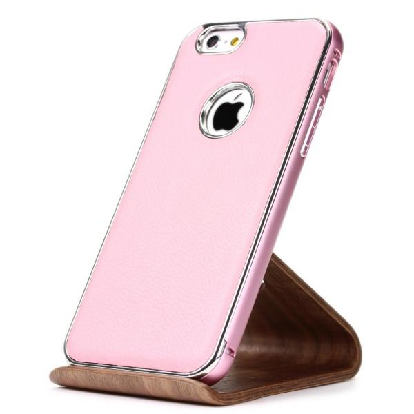 Urcover® Apple iPhone 6 / 6s Kunstleder Schutzhülle Backcase Cover Bumper Tasche