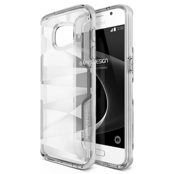 Urcover® Samsung Galaxy S7 TPU Back Case Schutz Hülle klare Rückseite Cover Etui