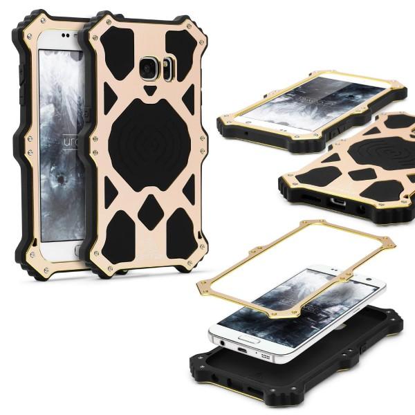 Urcover® Samsung Galaxy S7 Outdoor Case Schutz Hülle Flip Tasche Wallet