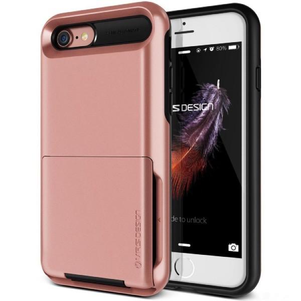 VRS Design Apple iPhone 7 Damda Folder Hard Cover Case Kartenfach max. 5 Karten