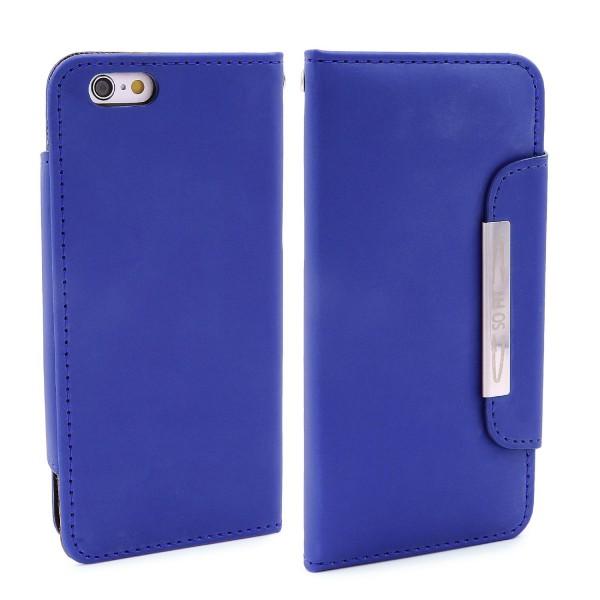 Urcover® Apple iPhone 6 Plus / 6s Plus Schutz Hülle Portmonee Portmonnaie Case