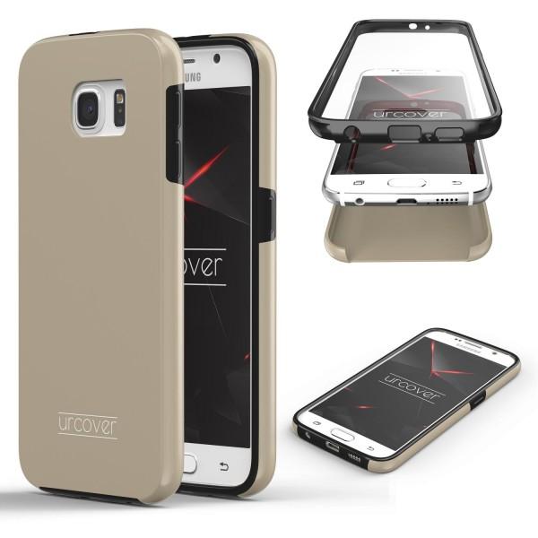 Samsung Galaxy S6 Touch Case 2018 Handy Schutz Hülle 360° Rundumschutz Etui