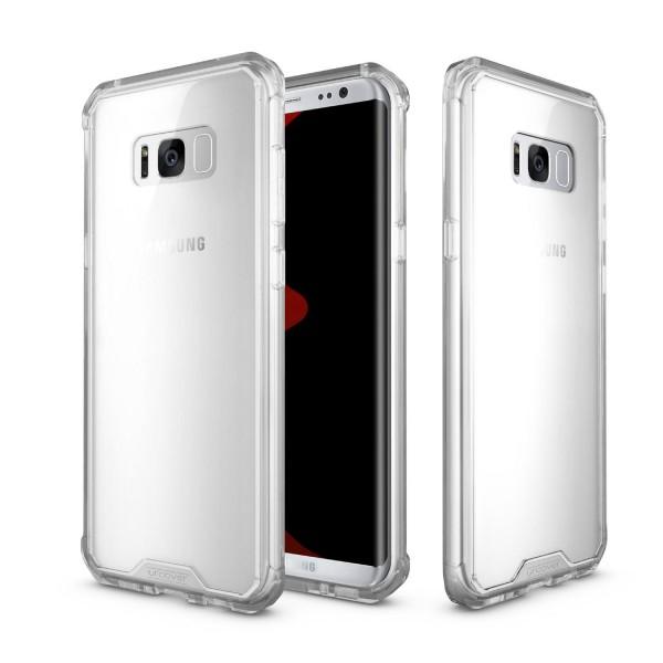 Urcover Samsung Galaxy S8 Plus Handy Schutz Hülle ULTRA SLIM Case Cover klat Schale Silikon