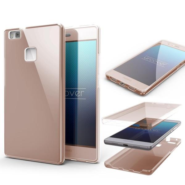 Huawei P9 Lite TPU Case 360 Grad Schutz Hülle Etui Cover Touch Case