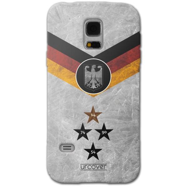 Urcover® Samsung Galaxy S5 Fanartikel Schutz Hülle Fußball Case Land Flagge