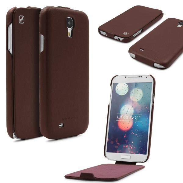 Urcover® Samsung Galaxy S4 Schutzhülle Kunstleder Wallet Case Cover Etui Schale