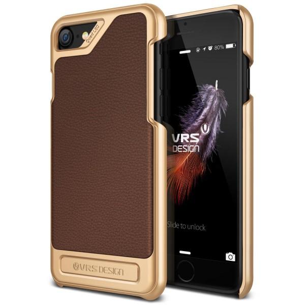 Urcover® Apple iPhone 7 Leder Optik Schutz Cover Case Hülle Slim Case Etui