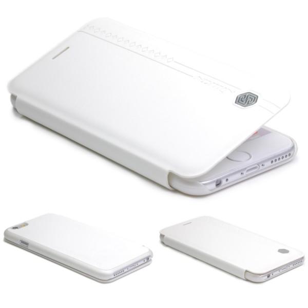 Urcover® Apple iPhone 6 / 6s Hülle Kunststoff Schutz Wallet Flip Cover Etui