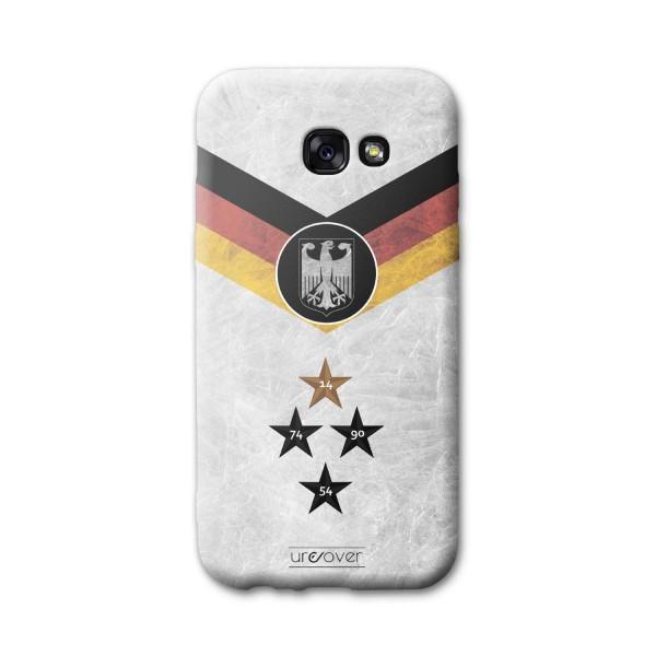 Samsung Galaxy A3 (2017) Handyhülle Fanartikel Fussball Case Fußball