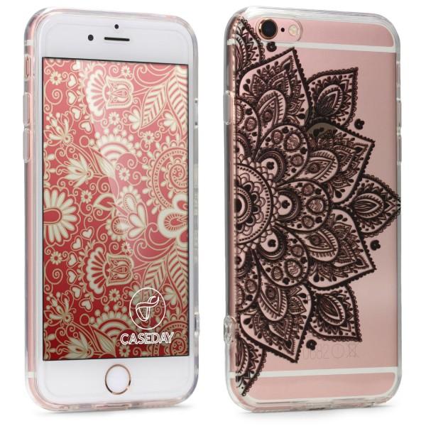 Apple iPhone 6 / 6s TPU Silikon Gel Handy Schutz Hülle mit Muster Case