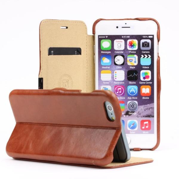 iCarer® Handy Schutz Hülle für Apple iPhone 6 Plus 6s PLus Case Cover Tasche Vintage